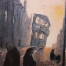 tram-and-figures-in-fog-maryhill-road-1962_42x38
